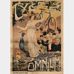 French School, 19th/20th Century      Cycles Omnium.