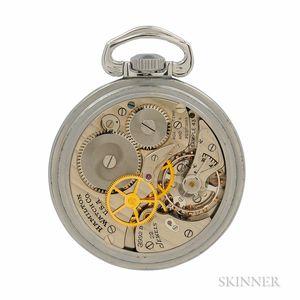 "Hamilton Navigational Master Watch ""3992B,"""