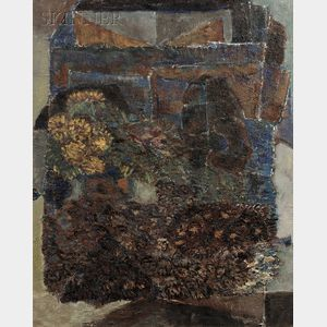 Karl Knaths (American, 1891-1971)      Abstract Garden