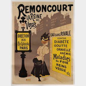 French School, 20th Century      Remoncourt la Reine des Vosges.