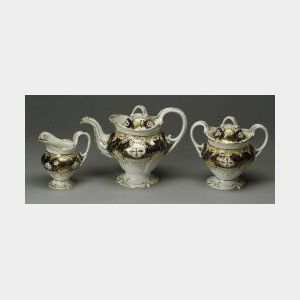 Rockingham Porcelain Tea Service