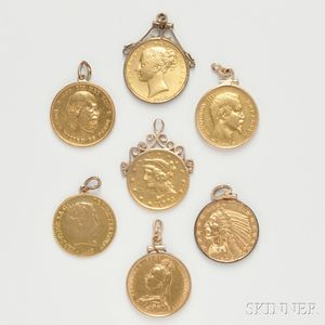 Seven Gold Coins