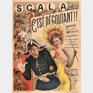 French School, 19th/20th Century      Scala C'est Dégoutant!!