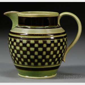"""Dutch Shape"" Checkered Jug"