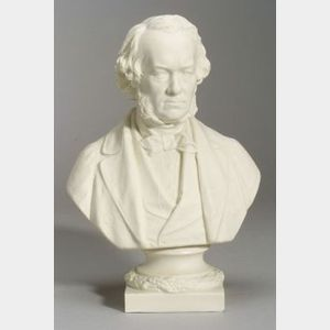 Copeland Parian Bust of Richard Cobden