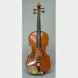 Contemporary American Violin, F.V. Henderson, Seattle, 1975