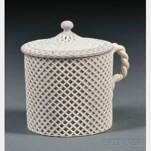 Wedgwood Lilac Jasper Dip Cup and Cover