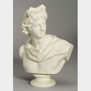 Copeland Parian Bust of Apollo