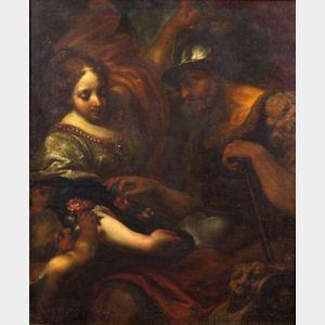 Attributed to Simone Pignone (Italian, 1614-1698)    Venus and Mars