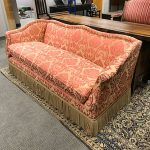 Victorian-style Upholstered Sofa