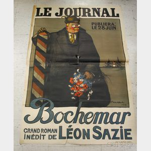 Seventeen Mostly French WWI Lithograph Posters