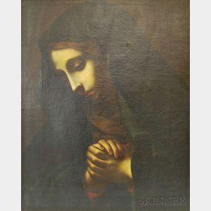 After Carlo Dolci (Italian, 1616-1686)    Mater Dolorosa