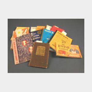 Group of Twelve Cookbooks
