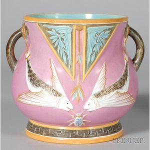 Wedgwood Christopher Dresser Design Earthenware Aquarium Vase