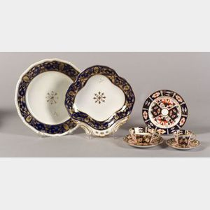 Twenty-six Assorted Derby Porcelain Items