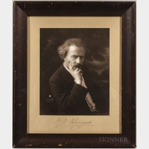 Paderewski, Ignacy Jan (1860-1941) Signed Photograph.