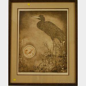 Bethia Brehmer (American, b. 1942)      Heron