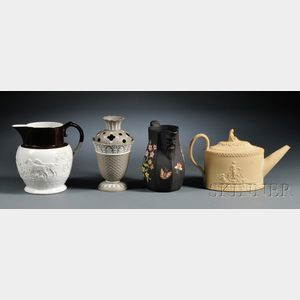 Four of Wedgwood's Contemporaries' Items
