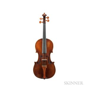 English Violin, Bernhard Simon Fendt, c. 1830