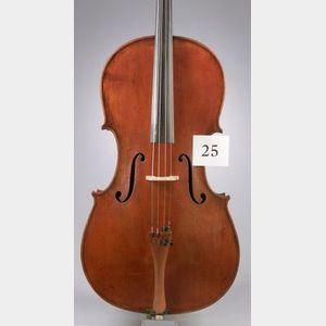 Modern Italian Violoncello, Eraclio Raineri, Genoa, 1938