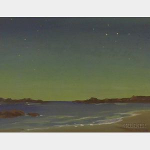 American School, 20th Century      Coastal View at Twilight