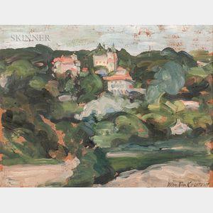 American School, 20th Century      Landscape Study