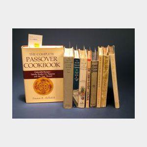 Group of Nine Hardcover Cookbooks