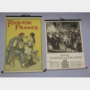 Six WWI Lithograph Posters