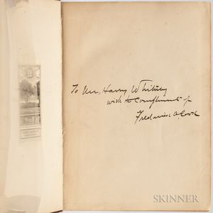 Cook, Frederick A. (1865-1940) My Attainment of the Pole  , Signed Copy.