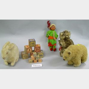 Group of Children's Toys