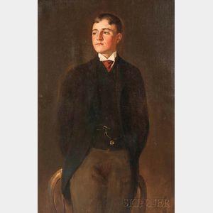 John White Alexander (American, 1856-1915)    Portrait of Henry Martin Alexander Jr.