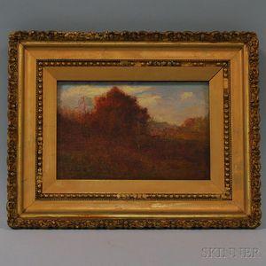Joseph H. Greenwood (American, 1857-1927)      Autumn Landscape