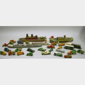 Group of Miscellaneous Transportation Toys
