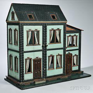 """Six-Room """"Mystery"""" Dollhouse"""