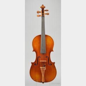 French Violin, for Paul Bisch, Mirecourt, 1938
