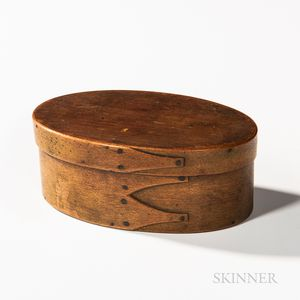 Small Oval Shaker Pantry Box
