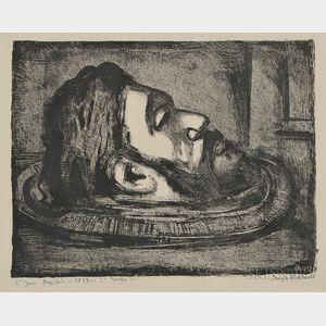 Georges Rouault (French, 1871-1958)      Saint Jean-Baptiste