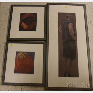 Eleven Framed Prints