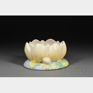 Clarice Cliff Pottery Lotus Blossom Bowl