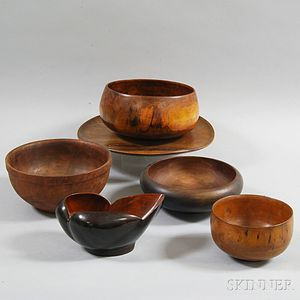 Six Pieces of Treen