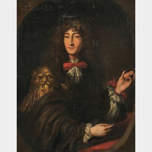 Attributed to Charles Herbel (French, 1656-1703)      Portrait of a Gentleman