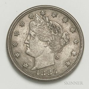 1883 'Cents' Liberty Head Nickel
