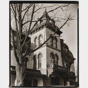 Berenice Abbott (American, 1898-1991)      Wheelock House, 661 West 158th Street, Manhattan