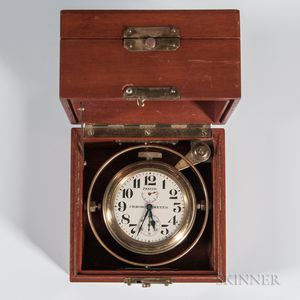 Zenith Eight-day Gimbaled Deck Chronometer