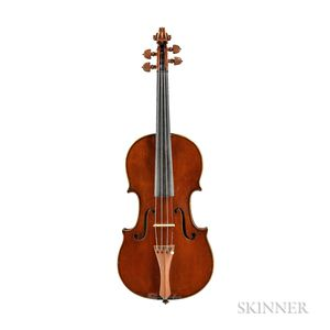 French Violin, Workshop of Charles Jacquot