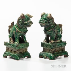 Pair of Foo Lions