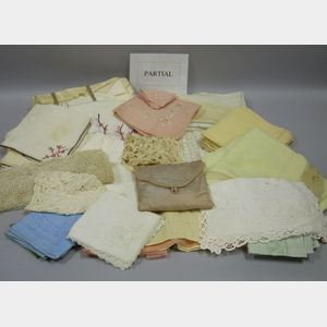 Lot of Assorted Household Linens and Textiles