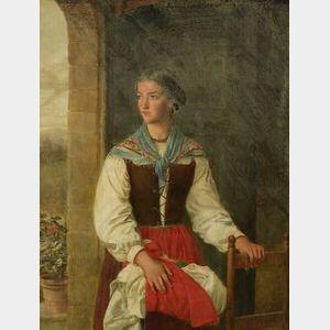 Francesca Alexander (Italian/American, 1837-1917)  Clorinda Amadei