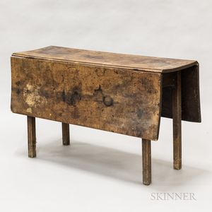 Country Maple Drop-leaf Table