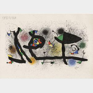 Joan Miró (Spanish, 1893-1983)      Sculptures